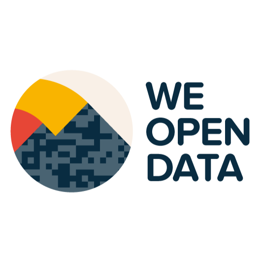We Open Data logo